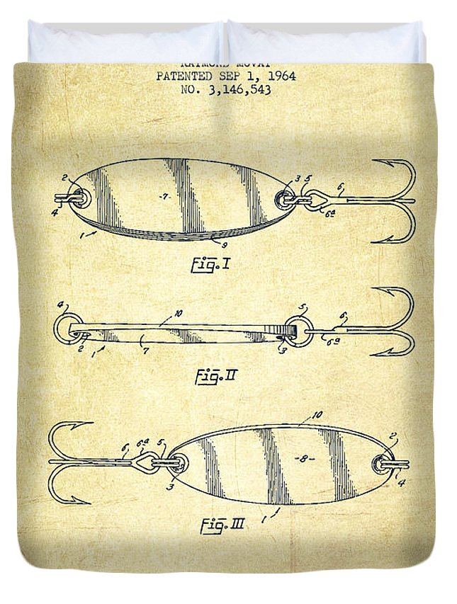 Fishing Tackle Duvet Covers