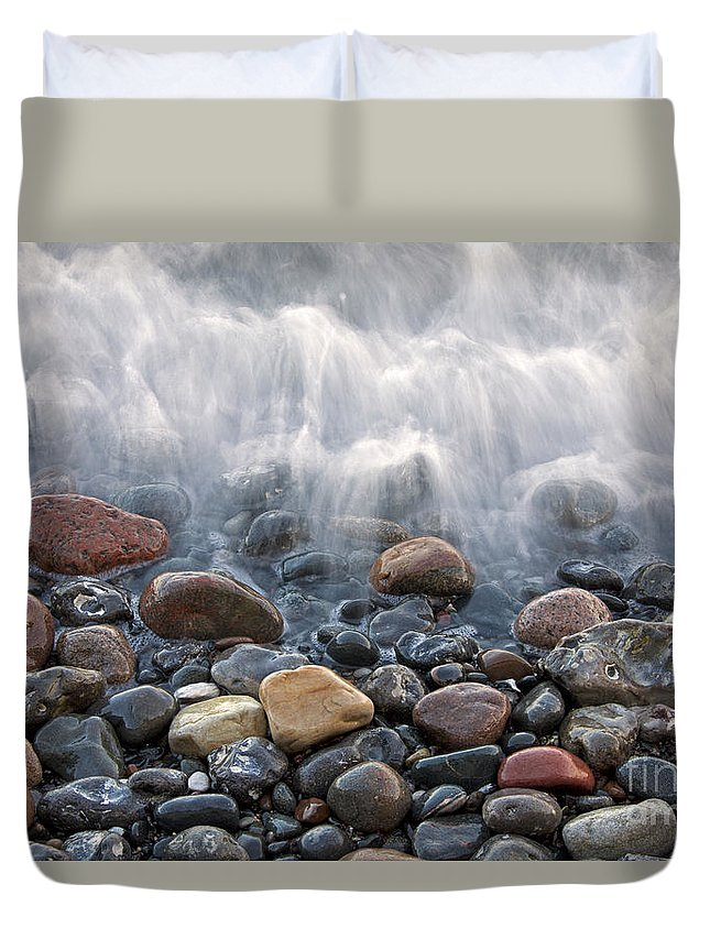 Rock Duvet Cover featuring the photograph 110613p200 by Arterra Picture Library