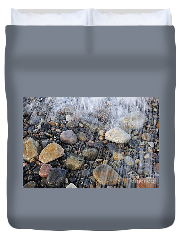 Colourful Duvet Cover featuring the photograph 110714p192 by Arterra Picture Library
