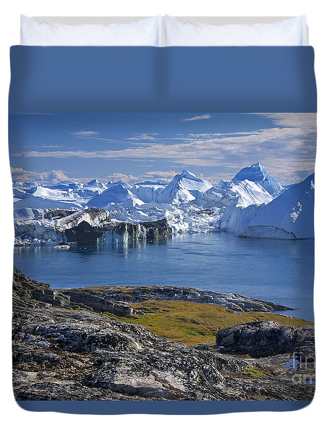 Landscape Duvet Cover featuring the photograph 110714p241 by Arterra Picture Library