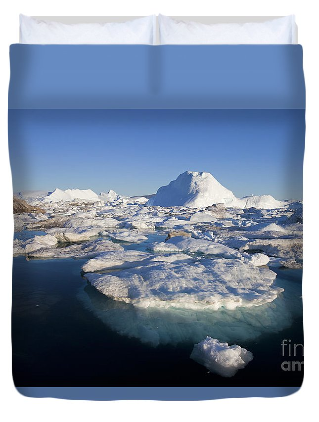 Landscape Duvet Cover featuring the photograph 110714p242 by Arterra Picture Library