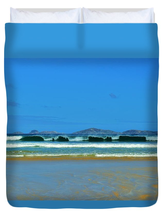 Wilsons Promontory Duvet Cover featuring the photograph Wilsons Prom by Snowflake Obsidian