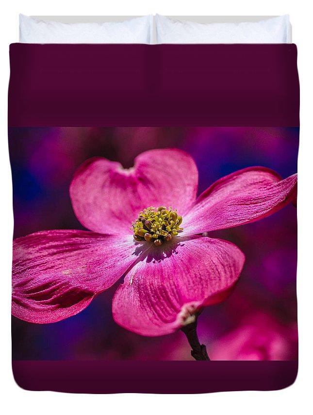 Flower Duvet Cover featuring the photograph Flower by Gerald Kloss