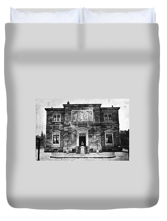 1874 Duvet Cover featuring the photograph Richard Wagner (1813-1883) by Granger