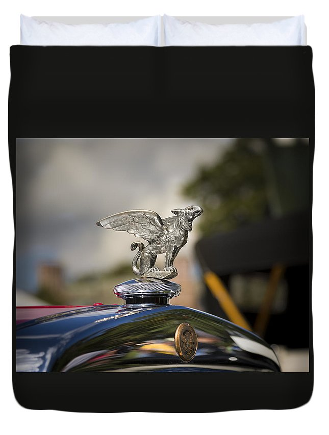 Antique Duvet Cover featuring the photograph 1928 Gardner Model 8-85 Sport Roadster by Jack R Perry