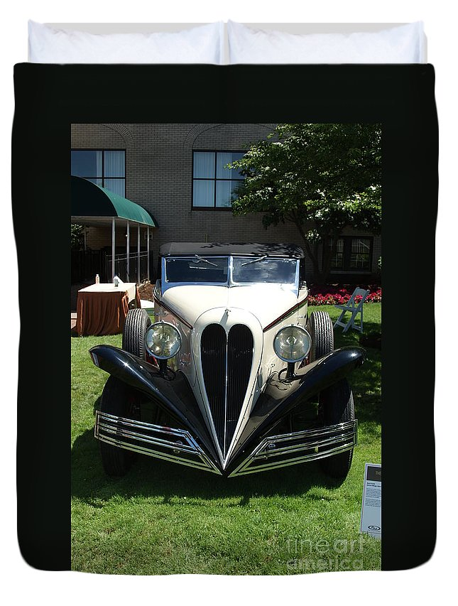 1934 Duvet Cover featuring the photograph 1934 Bruster by Rob Luzier