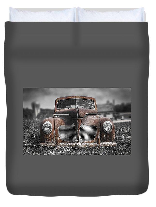 Abandoned Car Duvet Covers