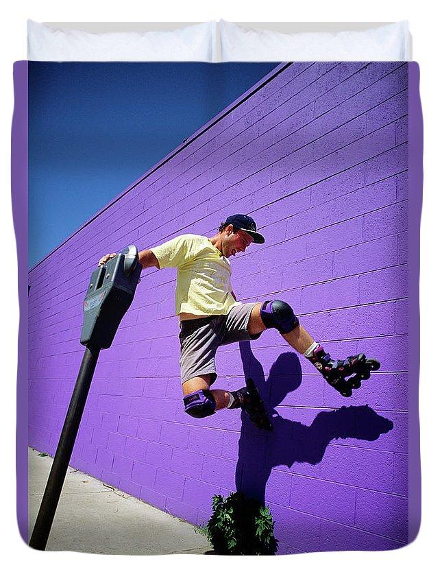 Cinder Blocks Photographs Duvet Covers