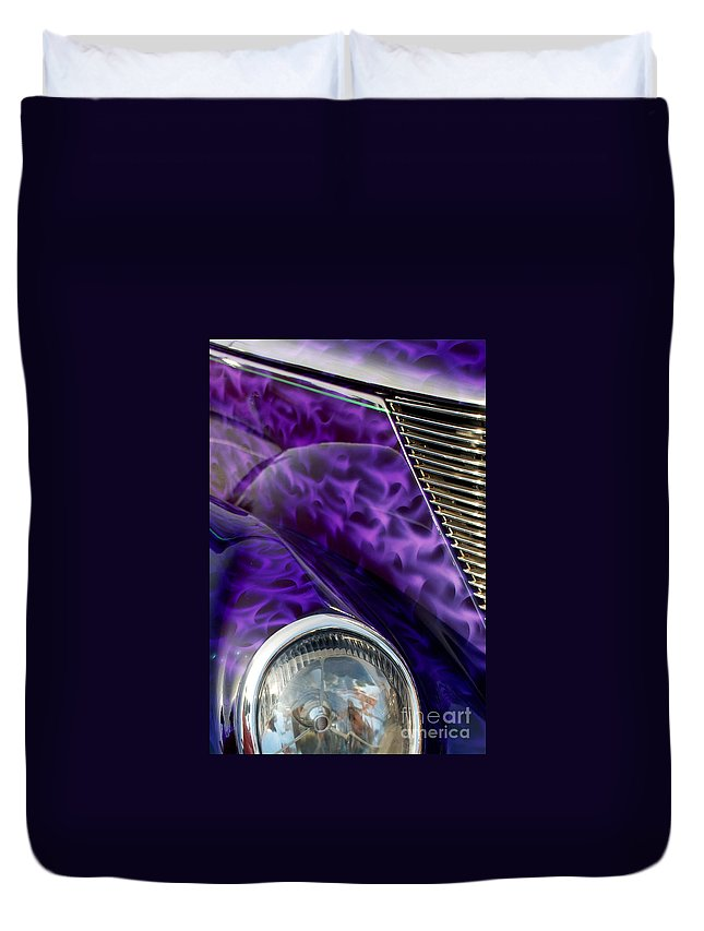 4th Annual Duvet Cover featuring the photograph 1937 Ford Oze by Mark Dodd