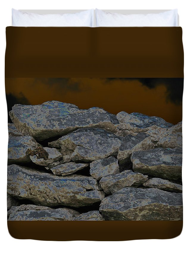 Irish Photography Duvet Cover featuring the photograph The Devil Is In The Detail by Dave Byrne