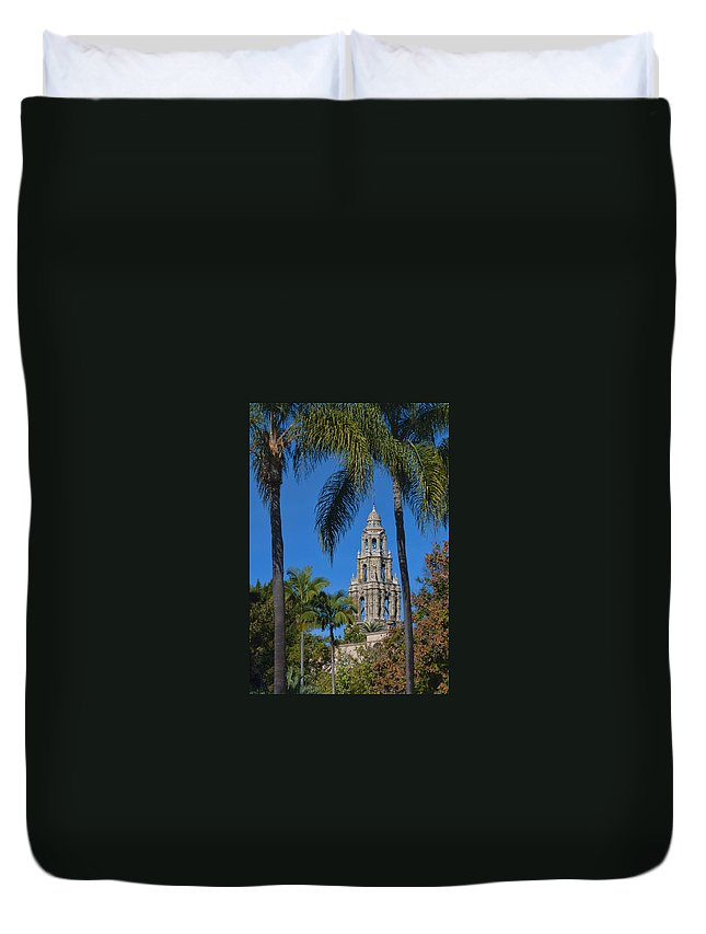 Park Duvet Cover featuring the photograph Balboa Park by Dennis Reagan