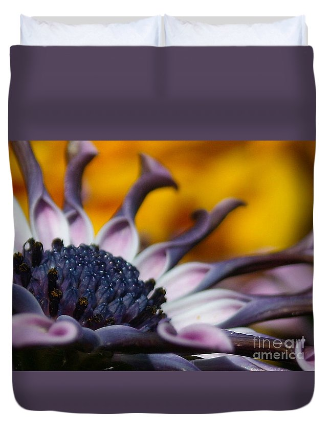 Flower Duvet Cover featuring the photograph Beautiful by Line Gagne