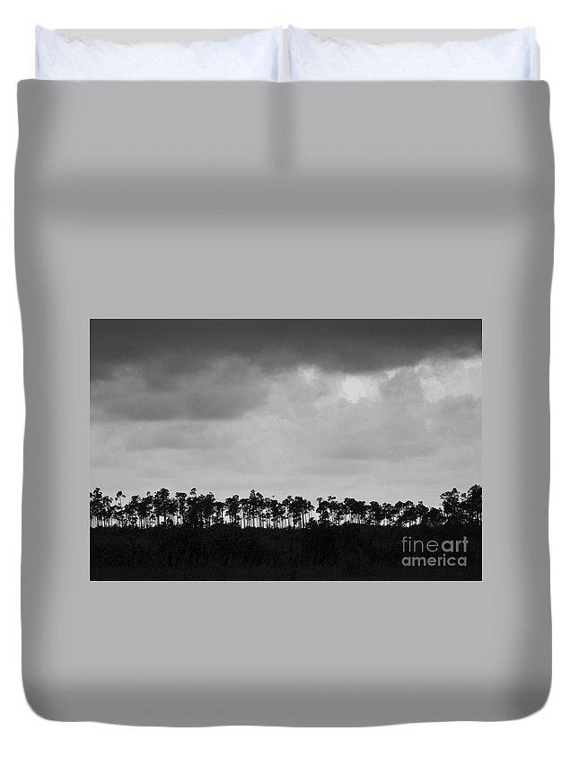 Everglades Duvet Cover featuring the photograph Everglades No.2 by John Greco