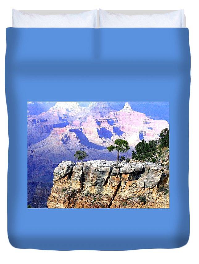 #grandcanyon1vista Duvet Cover featuring the photograph Grand Canyon 1 by Will Borden