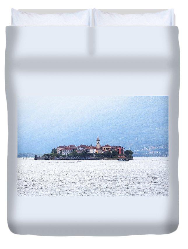 Isola Dei Pescatori Duvet Cover featuring the photograph Isola Dei Pescatori by Joana Kruse