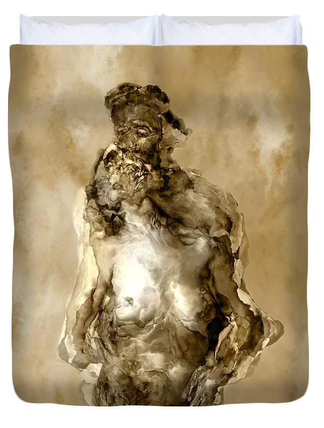 Nude Duvet Cover featuring the photograph Melt by Kurt Van Wagner