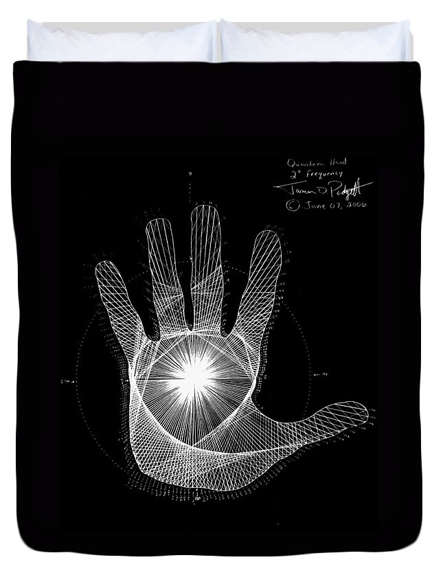 Hands Drawings Duvet Covers