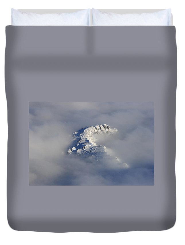 Rocky Mountains Duvet Cover featuring the photograph Rocky Mountain High by James BO Insogna