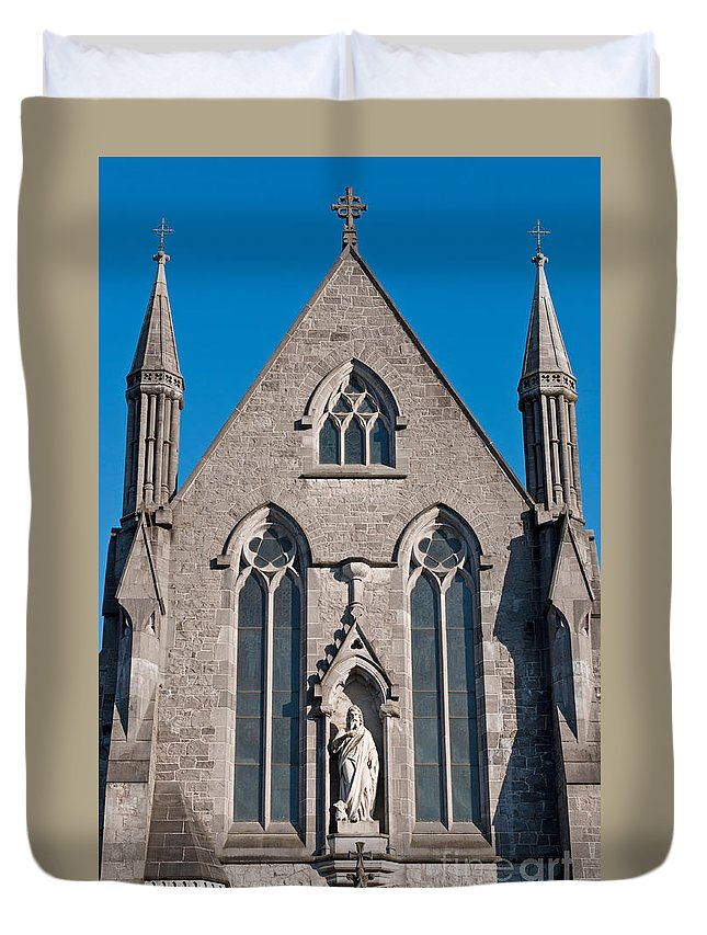 Church Duvet Cover featuring the photograph Saint John's Cathedral by Luis Alvarenga