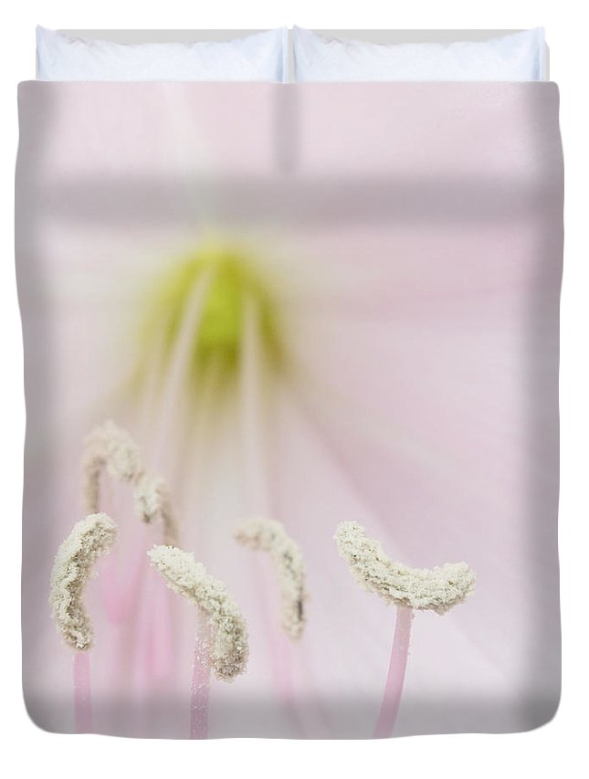 Aloha Duvet Cover featuring the photograph Surrender In Silence by Sharon Mau