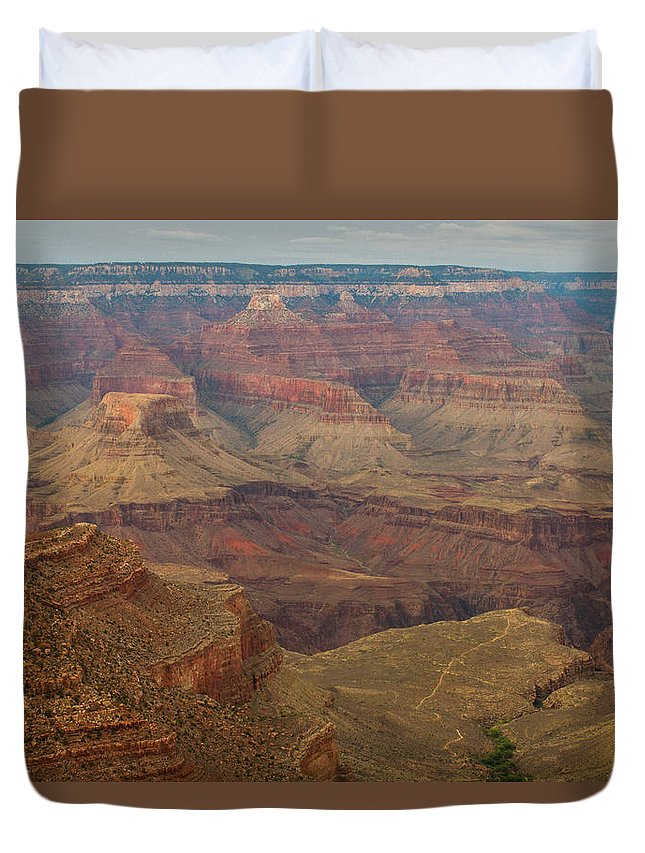Grand Canyon Duvet Cover featuring the photograph The Grandest Canyon by Kathleen Odenthal