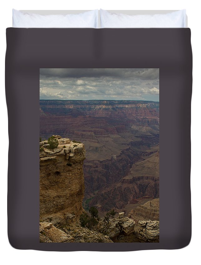 Sunrise Duvet Cover featuring the photograph The Grandest Of Canyons by Kathleen Odenthal