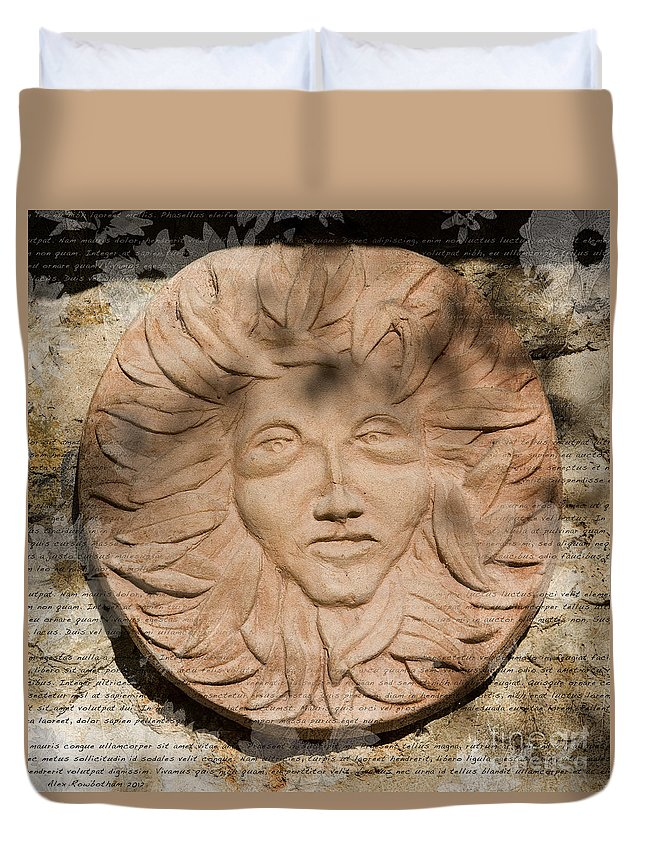 Tuscan Duvet Cover featuring the photograph Tuscan Sun by Alex Rowbotham