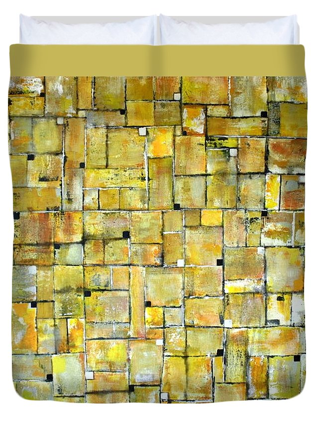 Art Duvet Cover featuring the painting Untitled by William Hartill