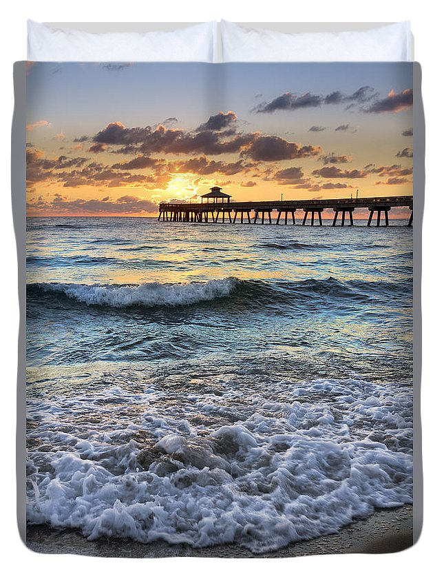 Clouds Duvet Cover featuring the photograph Whipped Cream by Debra and Dave Vanderlaan