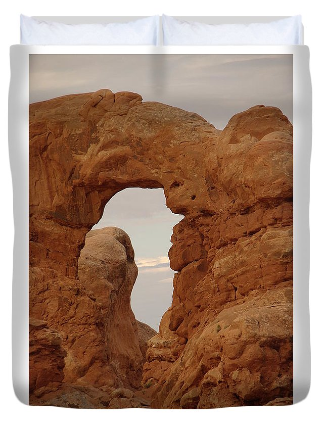 Windows Duvet Cover featuring the Windows by Jeff Swan