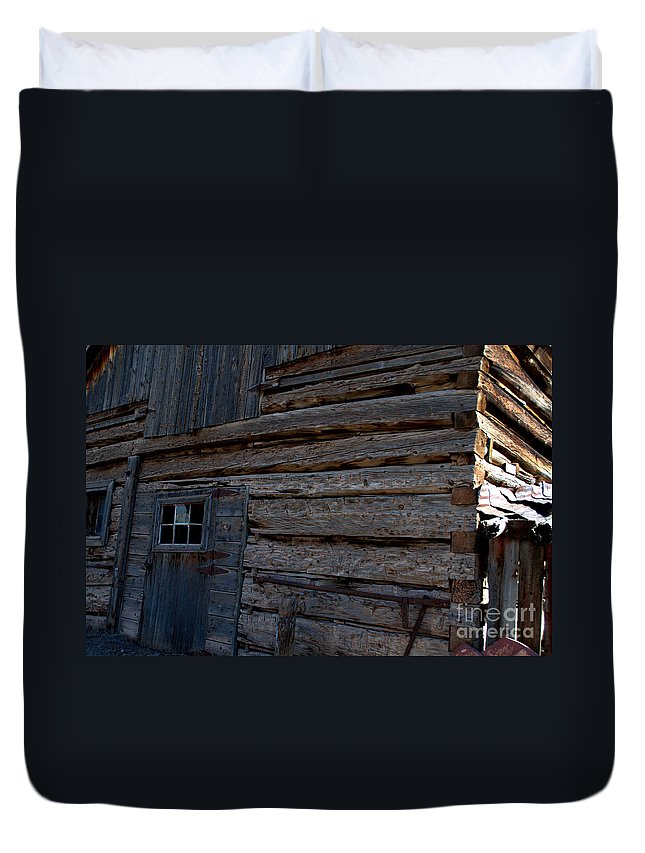 Barn Duvet Cover featuring the photograph 224 by Anjanette Douglas