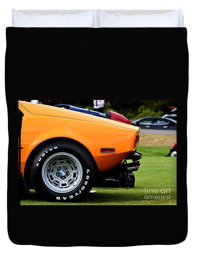 Duvet Cover featuring the photograph Hillsborough by Dean Ferreira
