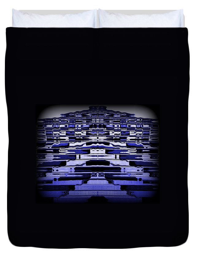 Original Duvet Cover featuring the photograph Abstract 121 by J D Owen