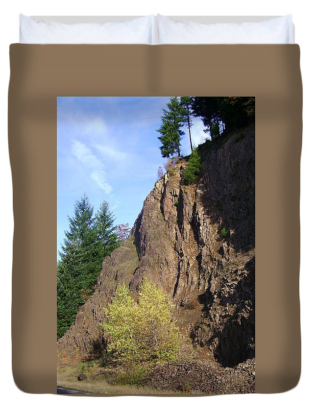 Original Duvet Cover featuring the photograph Autumn 6 by J D Owen