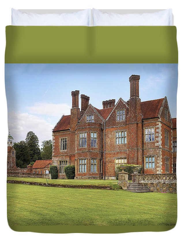 Breamore House Duvet Cover featuring the photograph Breamore House by Joana Kruse
