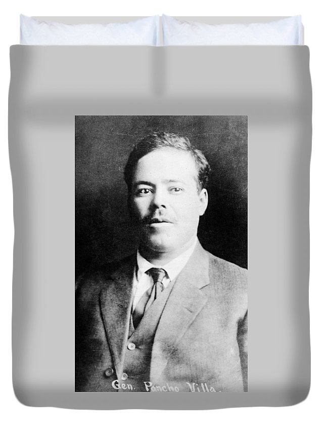 1915 Duvet Cover featuring the photograph Francisco 'pancho' Villa (1878-1923) by Granger