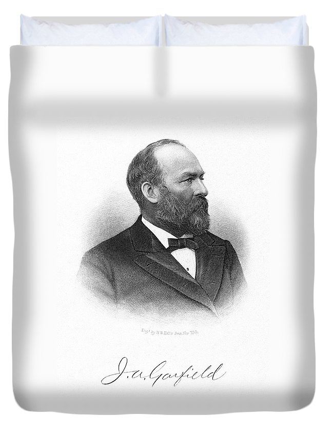 19th Century Duvet Cover featuring the painting James by Granger