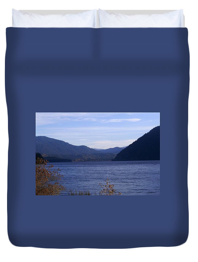 Bloom Duvet Cover featuring the photograph Lakes 5 by J D Owen