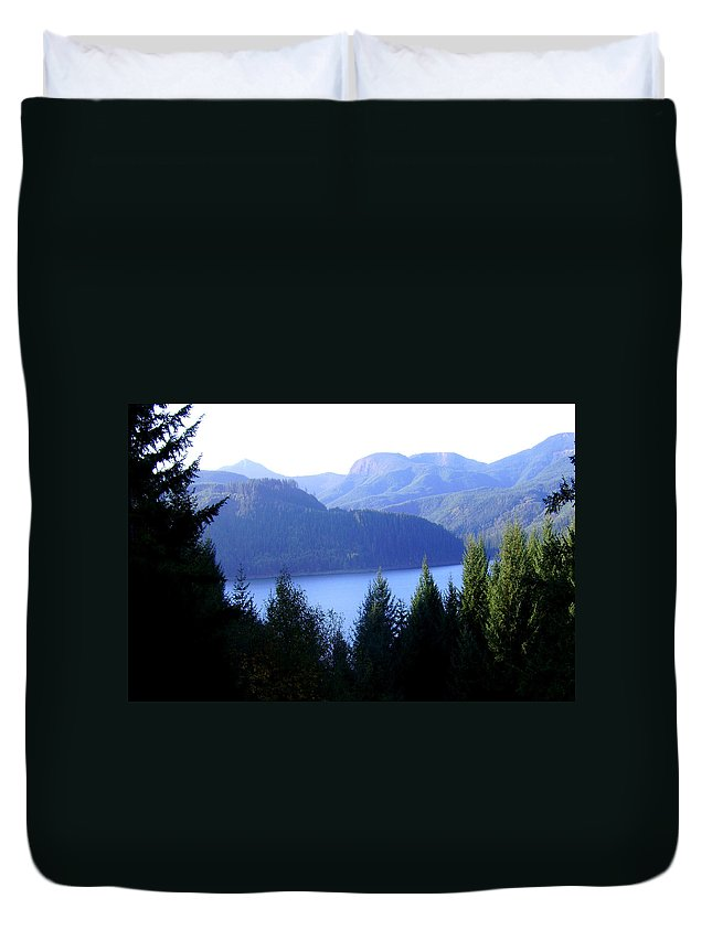 Bloom Duvet Cover featuring the photograph Lakes 8 by J D Owen