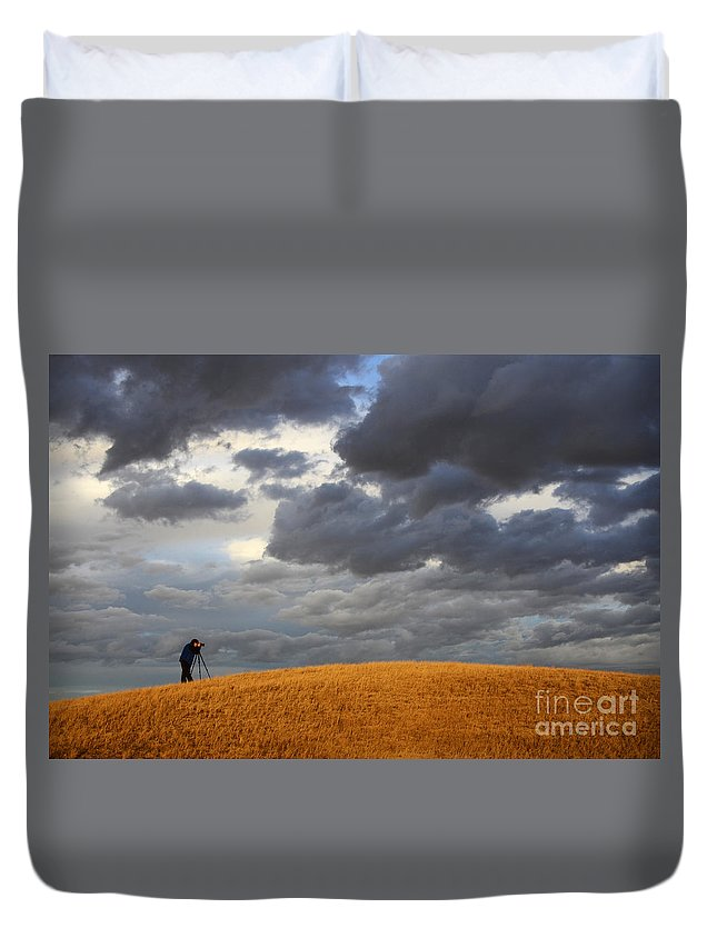Photography Duvet Cover featuring the photograph Living The Dream by Bob Christopher