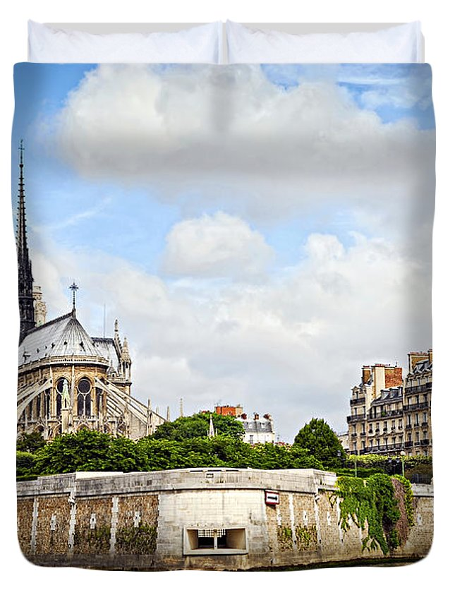 French Photographs Duvet Covers