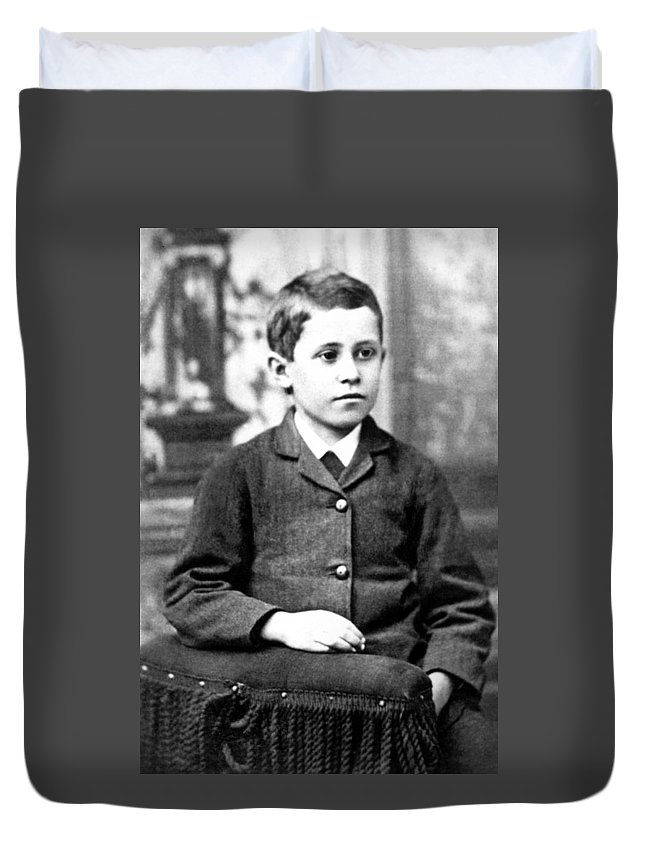 1879 Duvet Cover featuring the photograph Orville Wright (1871-1948) by Granger