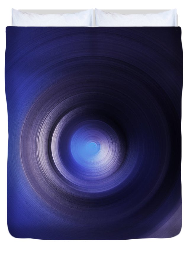 Trillion Stars In The Milky Way Duvet Cover featuring the digital art Trillion Stars In The Milky Way 12 by Rozita Fogelman