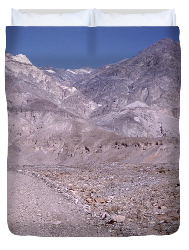 Vintage Duvet Cover featuring the photograph Vintage Death Valley By Lynn Bramkamp by David Hohmann