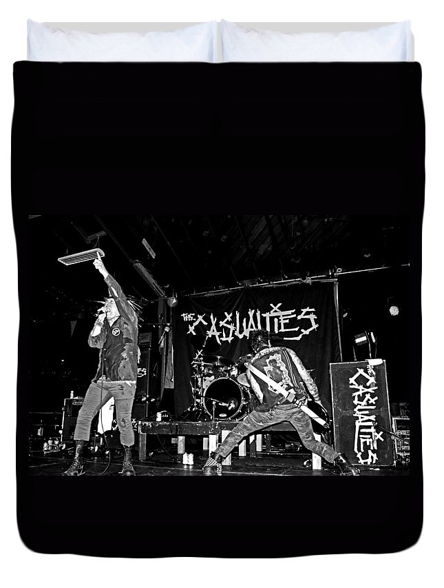 The Casualties Duvet Cover featuring the photograph Untitled by Chiara Corsaro