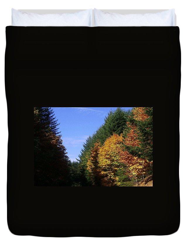 Bloom Duvet Cover featuring the photograph Autumn 9 by J D Owen