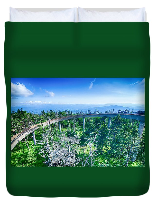 Great Duvet Cover featuring the photograph Clingmans Dome - Great Smoky Mountains National Park by Alex Grichenko