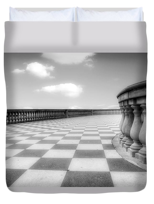 Livorno Duvet Cover featuring the photograph Livorno by Joana Kruse