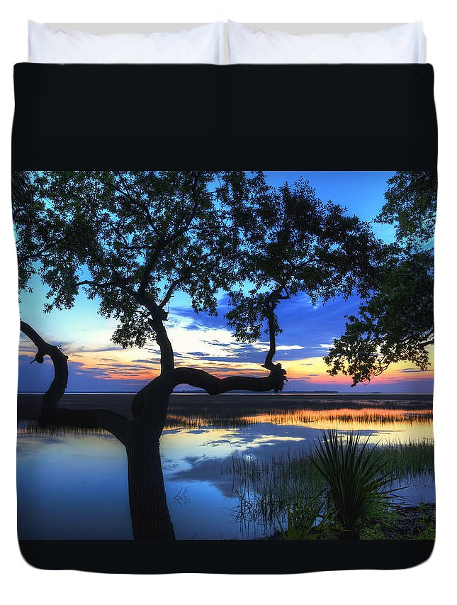 April Duvet Cover featuring the digital art April Morning by Phill Doherty