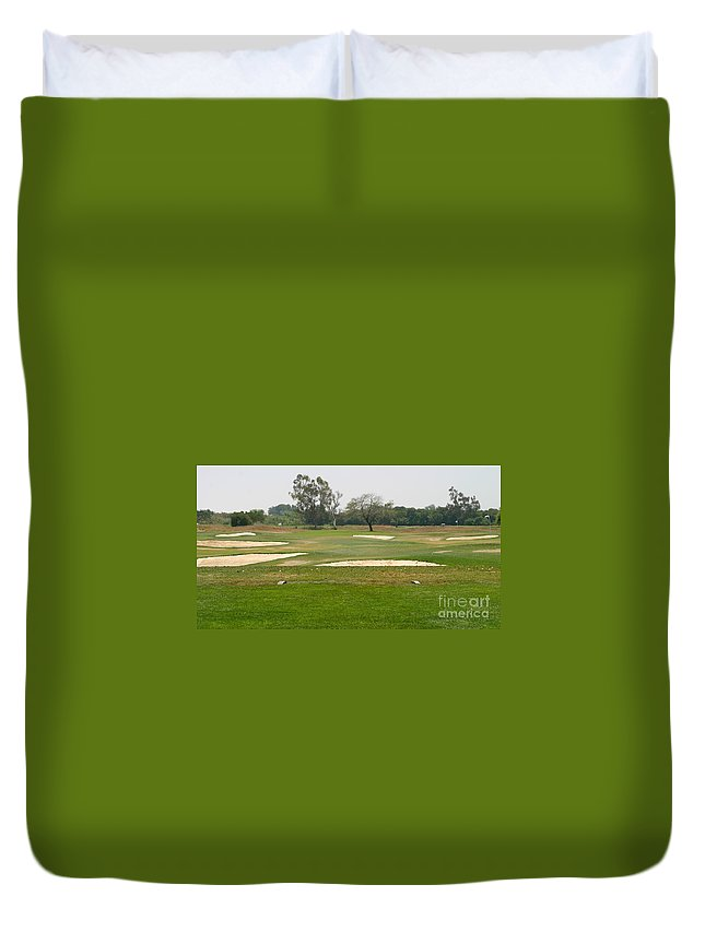 Beautiful Duvet Cover featuring the photograph Golf by Henrik Lehnerer